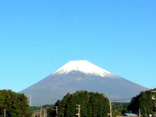 Mt.Fuji 10/17/2014